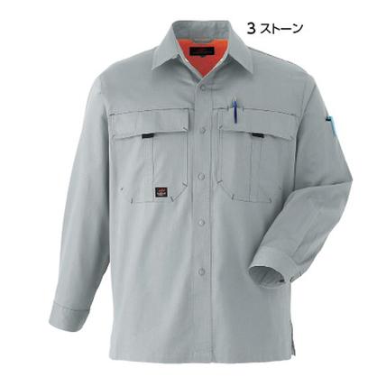 長袖シャツ085