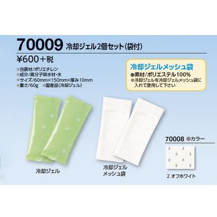 冷却ジェル2個セット(袋付)70009