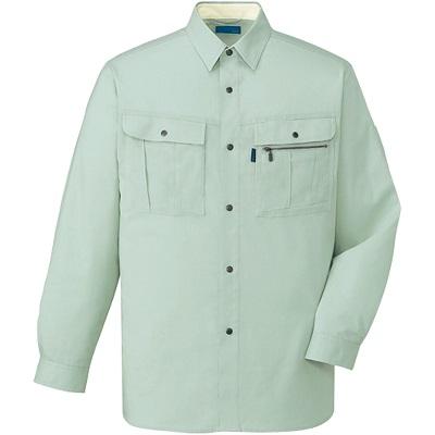 形態安定長袖シャツ 46004