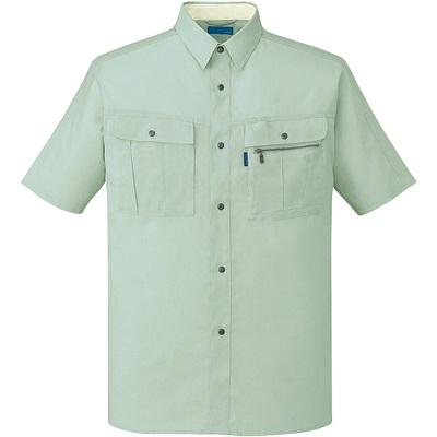 形態安定半袖シャツ 46014