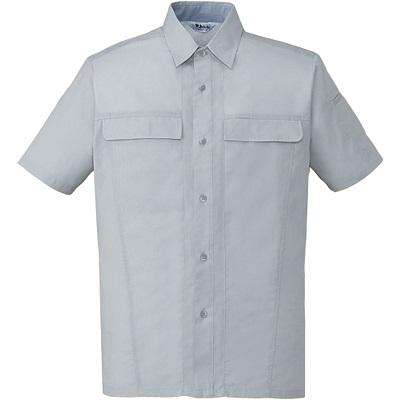 製品制電清涼半袖シャツ 45314