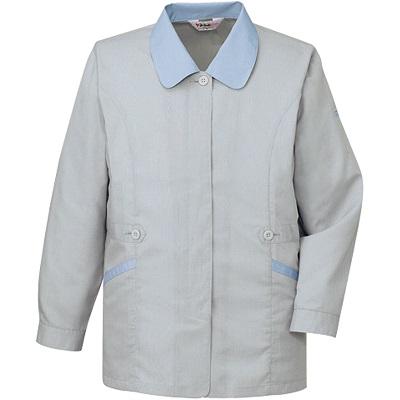 製品制電清涼長袖スモック 45325
