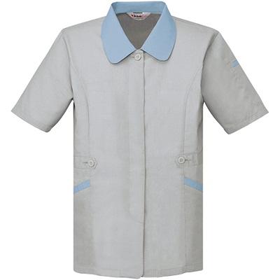 製品制電清涼半袖スモック 45335