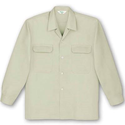 長袖オープンシャツ 7650