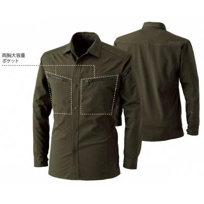 LIGHT TEC ロングスリーブシャツ 5305