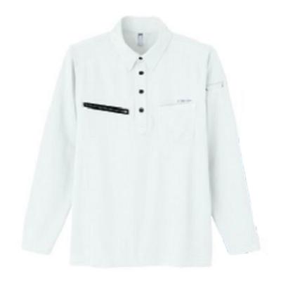 長袖ポロシャツ 8309