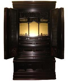 唐木仏壇紫檀製