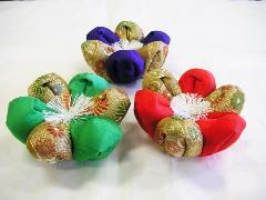 ドンス小菊綴花フトン3.5 (赤×金)(緑×金)