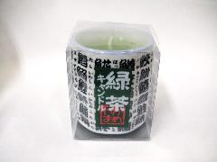 『故人の好物シリーズ』緑茶キャンドルのローソク