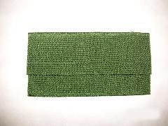 数珠袋 高級ちりめん 緑色