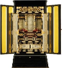 京型別台 『花ノ宮』 彫粉 本山 18×45