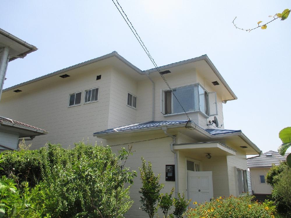 二階建て戸建て木造住宅