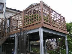 横浜市Y様邸 ウッドデッキ工事