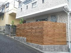 横浜市 S様邸 デッキ工事