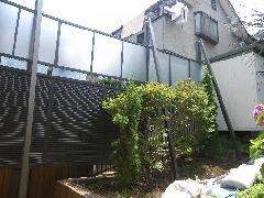 横浜市 K様邸 目隠しフェンス