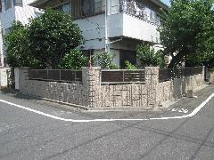 集合住宅 ブロック工事