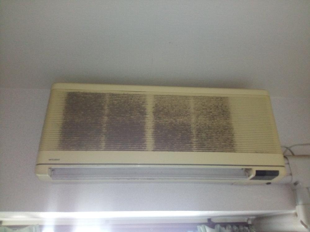 岸和田市土生町 エアコンクリーニング 1台