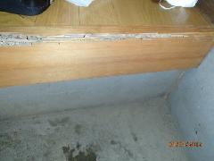 シンク流し台からの漏水が原因?白蟻被害