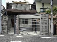 西新宿 ガレージ・カーポート工事