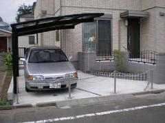 港区 Y邸 塀・門扉・カーポート工事