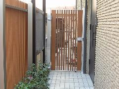神奈川 門・忍び返しフェンスの設置