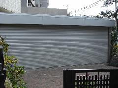 川崎市I邸 ガレージシャッターの取り付け