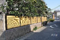 川崎市 I邸 外構一式工事(塀の施工1)