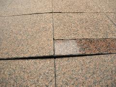 東京都杉並区のマンション外部床の御影石張替え工事