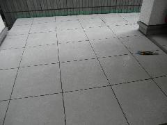 東京都渋谷区個人邸新築工事、床タイル工事