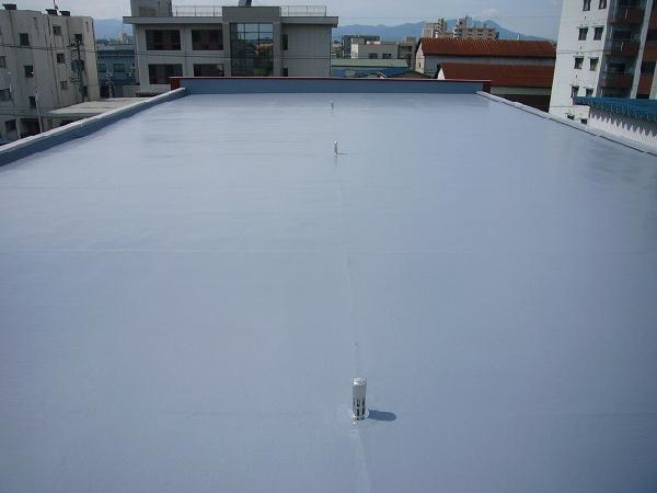 屋上FRP防水工事
