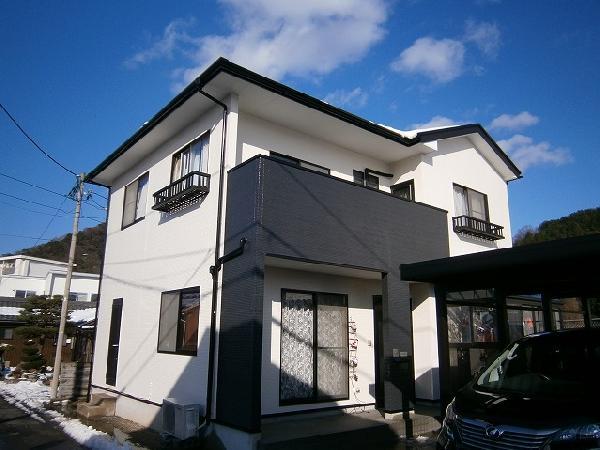 【戸建】上野邸塗装工事(敦賀市)