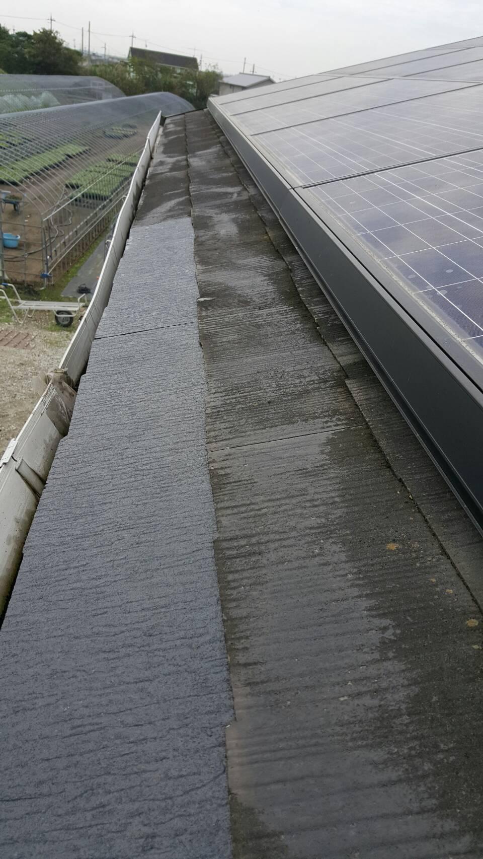 屋根1部差し替え工事
