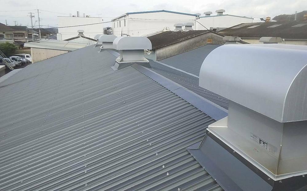 スレート屋根 雨漏り修理