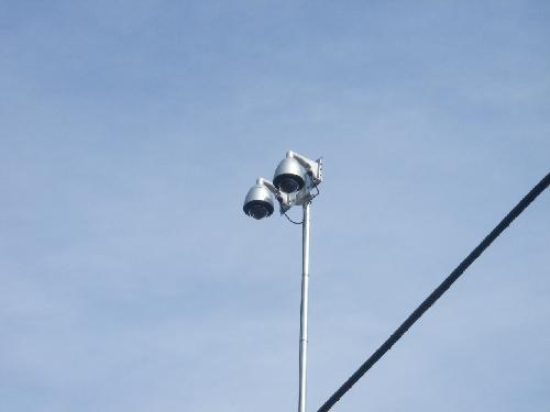 屋外ドーム型光学倍率