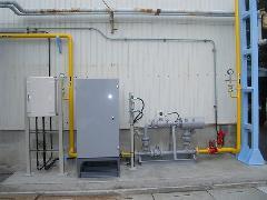 ガス伝送盤設備