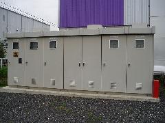 高圧設備 キュービクル設置