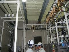 高圧設備 組付け変電
