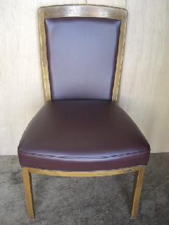 本革食卓椅子