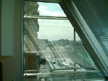 高所ガラス交換工事 東京都品川区