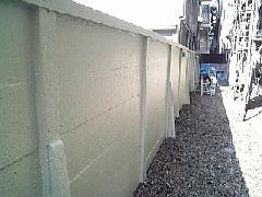 荒川区 ブロック塀 塗り替え