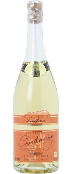 高畠ワイン 亜硫酸無添加 スパークリング シャルドネ14 750ml