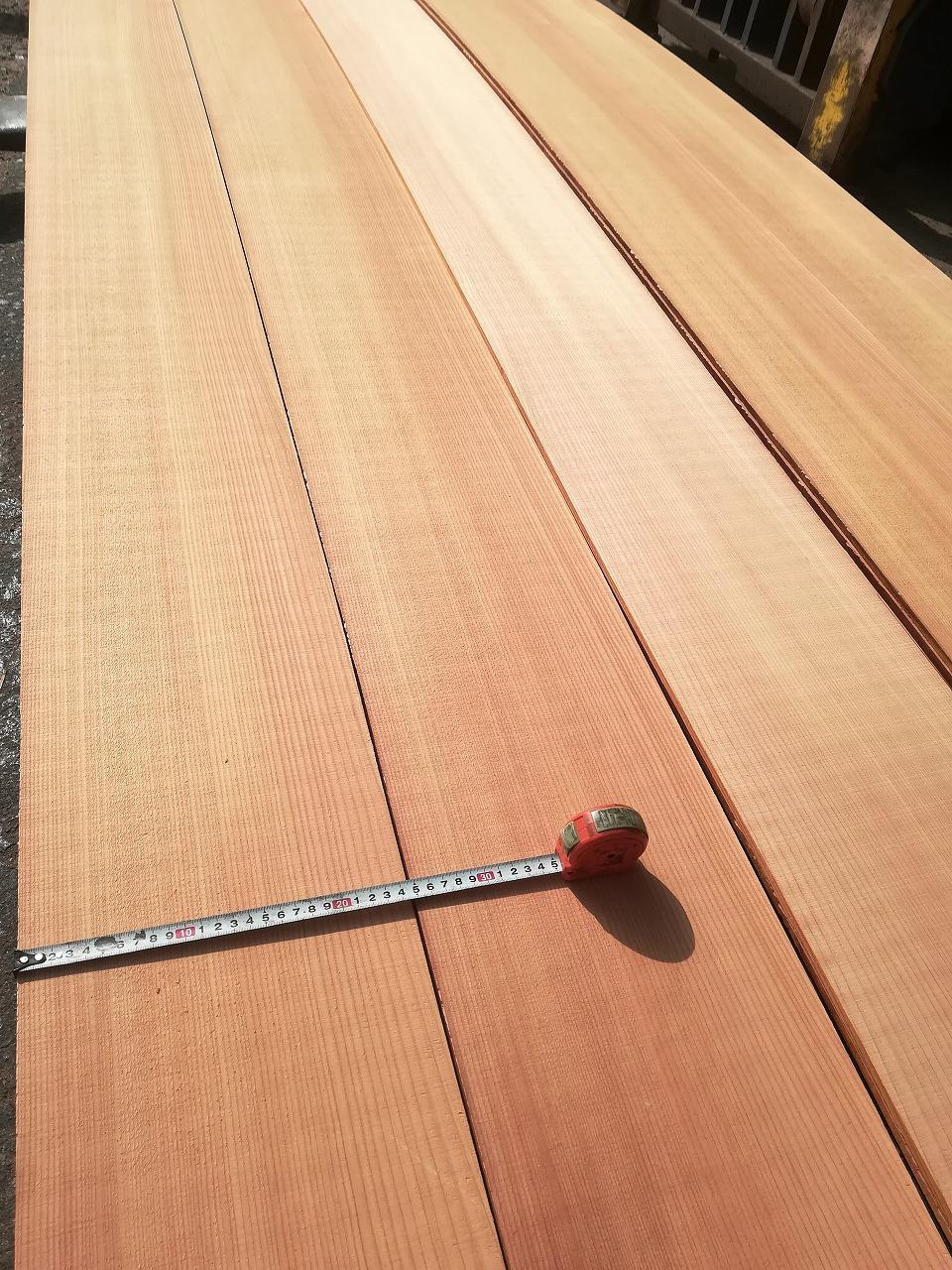 吉野杉 柾目天井板