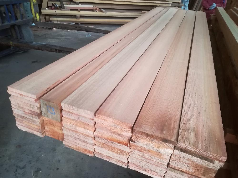 吉野杉 赤身5寸柾板