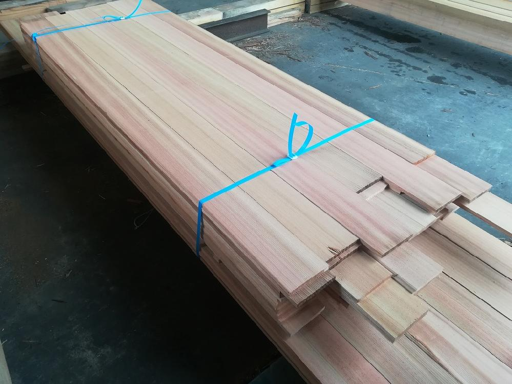 吉野杉 赤身 柾目板
