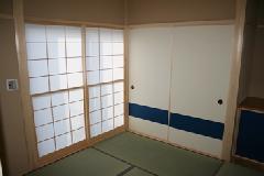 A邸様 障子