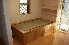 オーダー家具 畳ベッド