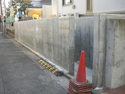 外構工事/コンクリート塀の安心&重厚な品位