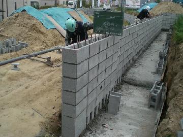 ブロック/レンガ工事