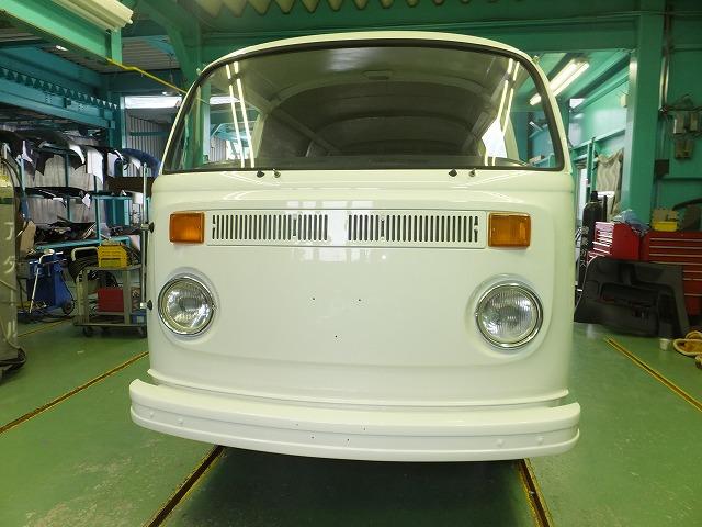 VWバス 塗装