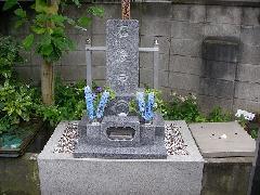 東光寺(市川市)境内墓地の石塔工事の施工事例です